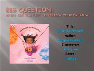 Big Question: When are you free to follow your Dreams