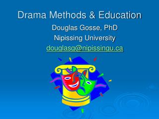 Drama Methods  Education