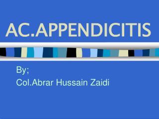 AC.APPENDICITIS