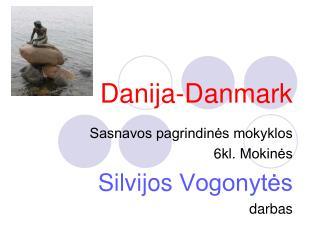 Danija-Danmark