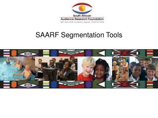 SAARF Segmentation Tools