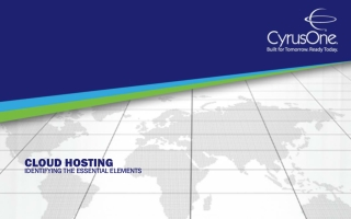 Cloud Hosting: Identifying the Essential Elements