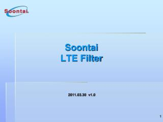 Soontai  LTE Filter
