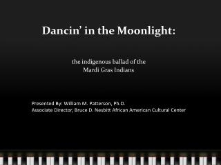 Dancin  in the Moonlight: