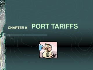 PORT TARIFFS