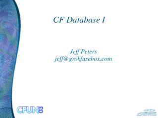 CF Database I