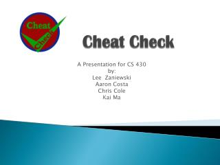 Cheat Check