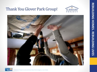 Thank You Glover Park Group!