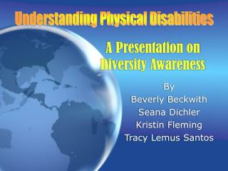 A Presentation on Diversity Awareness