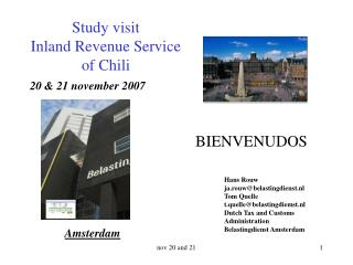 Study visit  Inland Revenue Service of Chili
