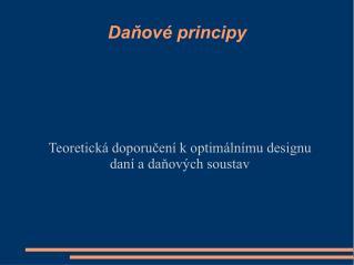 Danov  principy