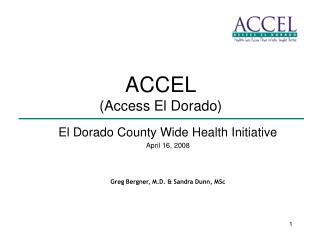 ACCEL Access El Dorado
