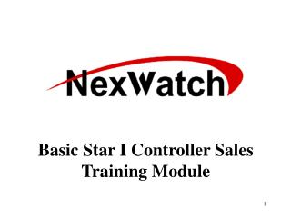 Basic Star I Controller Sales Training Module