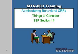 MTN-003 Training