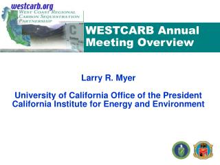 WESTCARB Annual Meeting Overview
