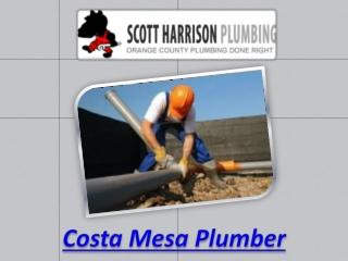 Costa Mesa plumber