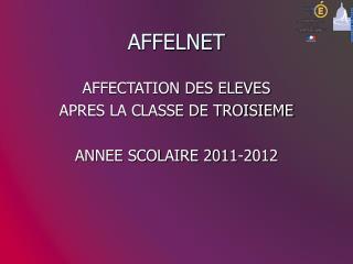 AFFELNET