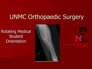 UNMC Orthopaedic Surgery