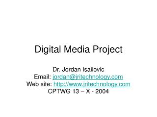 Digital Media Project