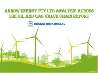 Arrow Energy Pty Ltd Analysis Across the Oil and Gas Value C