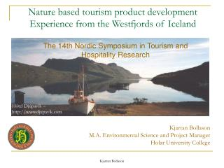 Nature based tourism product development