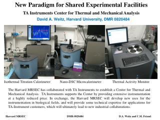 New Paradigm for Shared Experimental Facilities