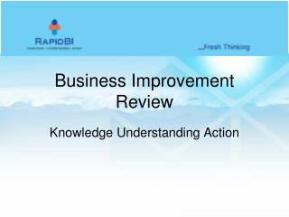 Business Improvement Review