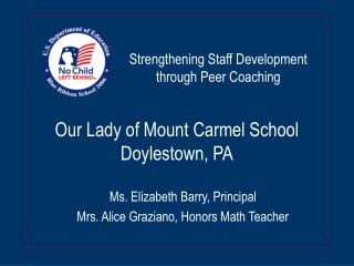 Our Lady of Mount Carmel School Doylestown, PA