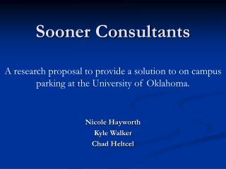 Sooner Consultants
