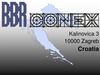 Kalinovica 3 10000 Zagreb Croatia