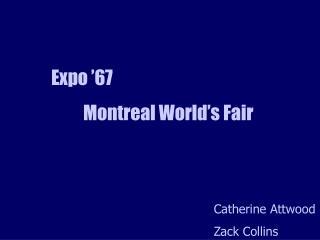 Expo  67  Montreal World s Fair