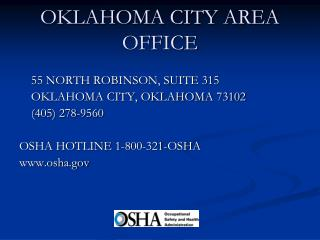 OKLAHOMA CITY AREA OFFICE