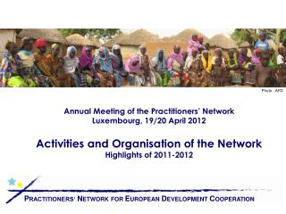 Annual Meeting of the Practitioners  Network Luxembourg, 19