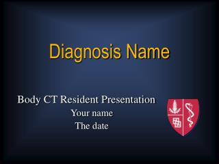 Diagnosis Name