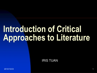 Travel Narratives:  Literary Characteristics