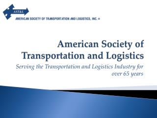 American Society of Transportation and Logistics