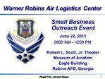 Small Business  Outreach Event