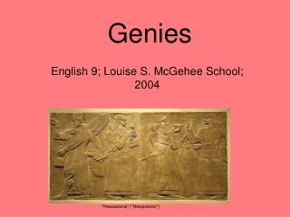 Genies