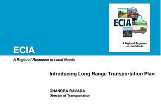 Introducing Long Range Transportation Plan