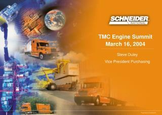 TMC Engine Summit March 16, 2004