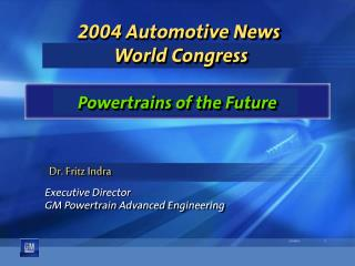 2004 Automotive News  World Congress