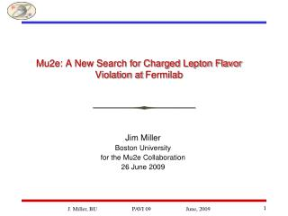 Mu2e: A New Search for Charged Lepton Flavor Violation at Fermilab