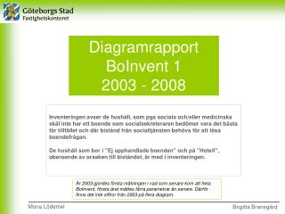 Diagramrapport  BoInvent 1  2003 - 2008