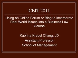 CEIT 2011