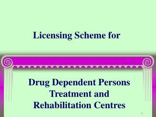 Licensing Scheme for