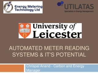 Automated meter Reading systems  its potential