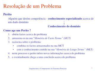 Resolu  o de um Problema