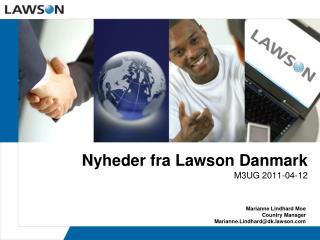 Nyheder fra Lawson Danmark
