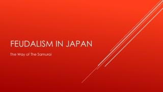 Japan: Kamakura  Warring States
