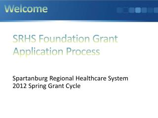 SRHS Foundation Grant Application Process
